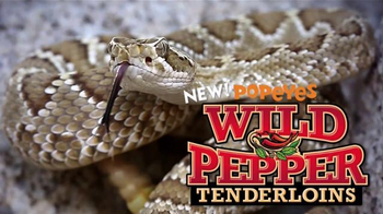 Popeyes Wild Pepper Tenderloins TV Spot, 'Hypnotic Snake'