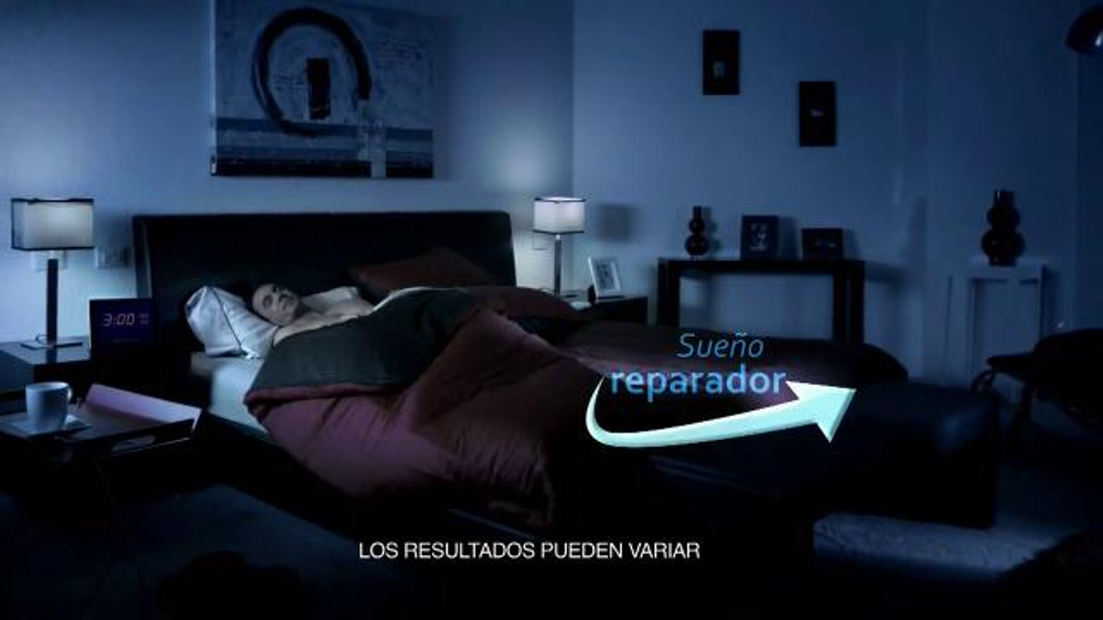 Next Nighttime Cold & Flu Relief TV Spot, 'Sueño reparador' [Spanish]