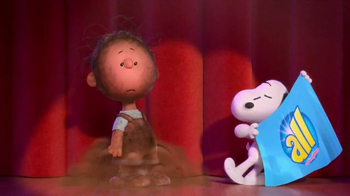 All Laundry Detergent TV Spot, 'The Peanuts Movie: Great Houndini'