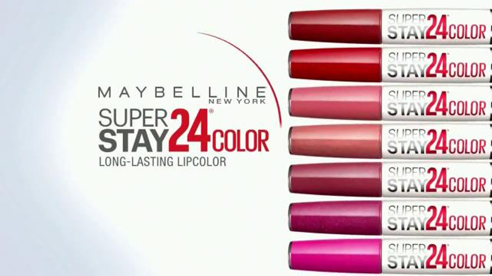 Maybelline new york superstay 24 color tv commercial mirror check