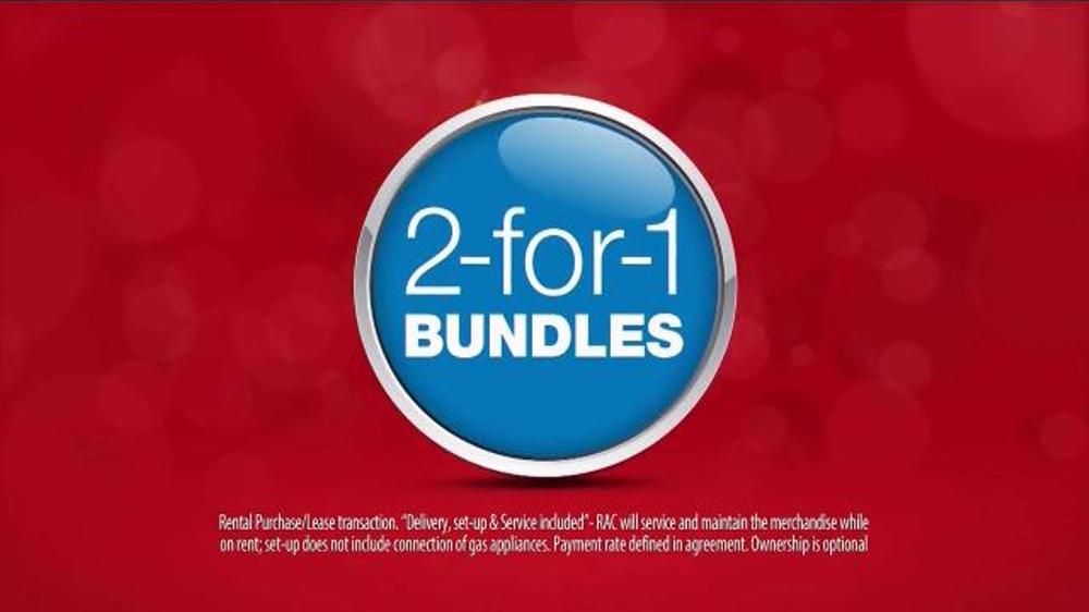 Rent-A-Center TV Spot, '2-for-1 Bundles'