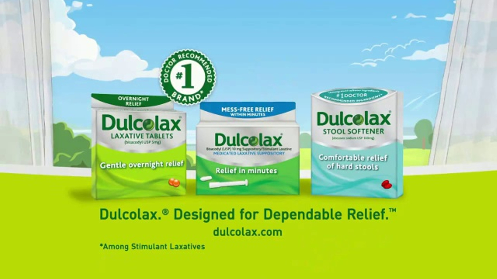 Dulcolax Tv Commercial Dependable Relief Ispot Tv