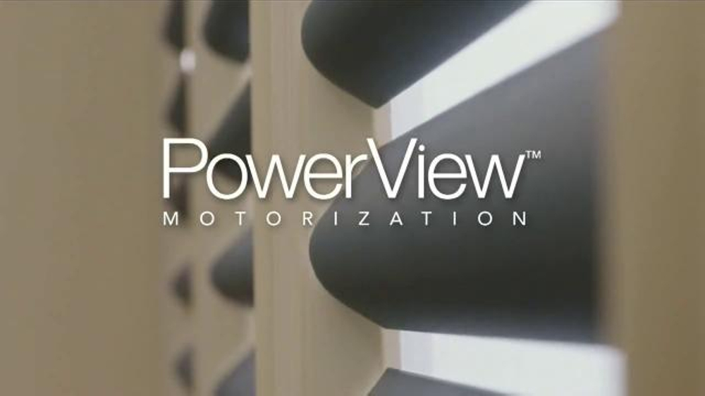 Hunter Douglas Powerview Motorization Tv Spot Motorized