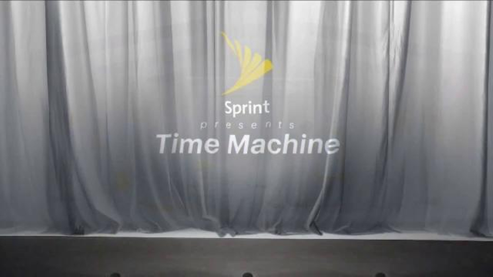 sprint iphone 6s tv commercial 39 time machine 39. Black Bedroom Furniture Sets. Home Design Ideas