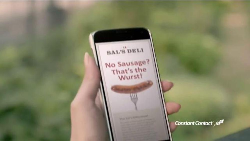 constant contact commercial meet salad