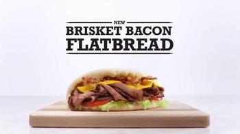 Arby's Brisket Bacon Flatbread TV Spot, 'Definitions'