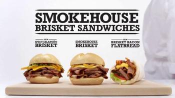 Arby's Smokehouse Brisket Sandwiches TV Spot, 'Smoke Rings'
