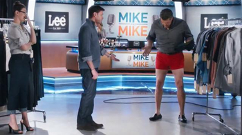 Lee Jeans: Mike and Mike: No Pants: Mike Greenberg
