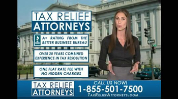 Tax Relief Attorneys TV Spot, 'Tax Related Issues'