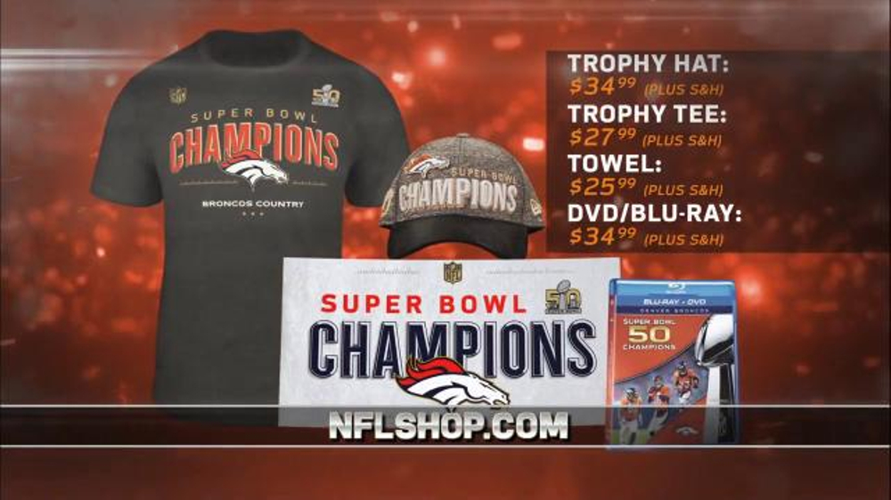 Nfl Shop Super Bowl 50 Trophy Collection Tv Spot Denver