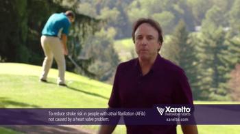 Xarelto TV Spot, 'In Common' Ft. Kevin Nealon, Chris Bosh, Arnold Palmer