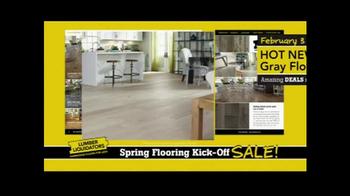 Lumber Liquidators Spring Flooring Kick-Off Sale! TV Spot, 'All Styles'