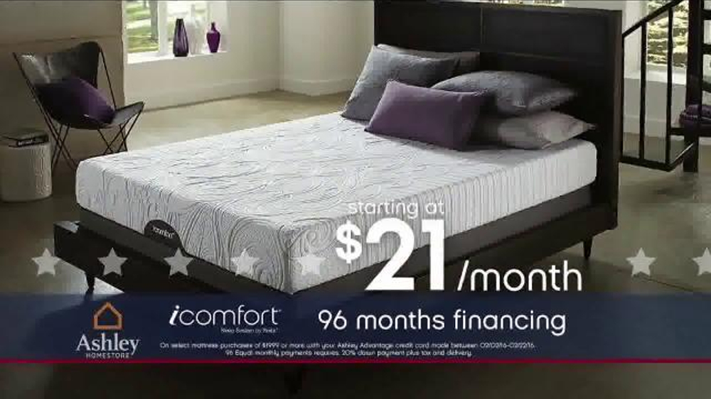 Ashley Homestore Presidents 39 Day Mattress Sale Tv Spot 39 Shop Huge Savings 39