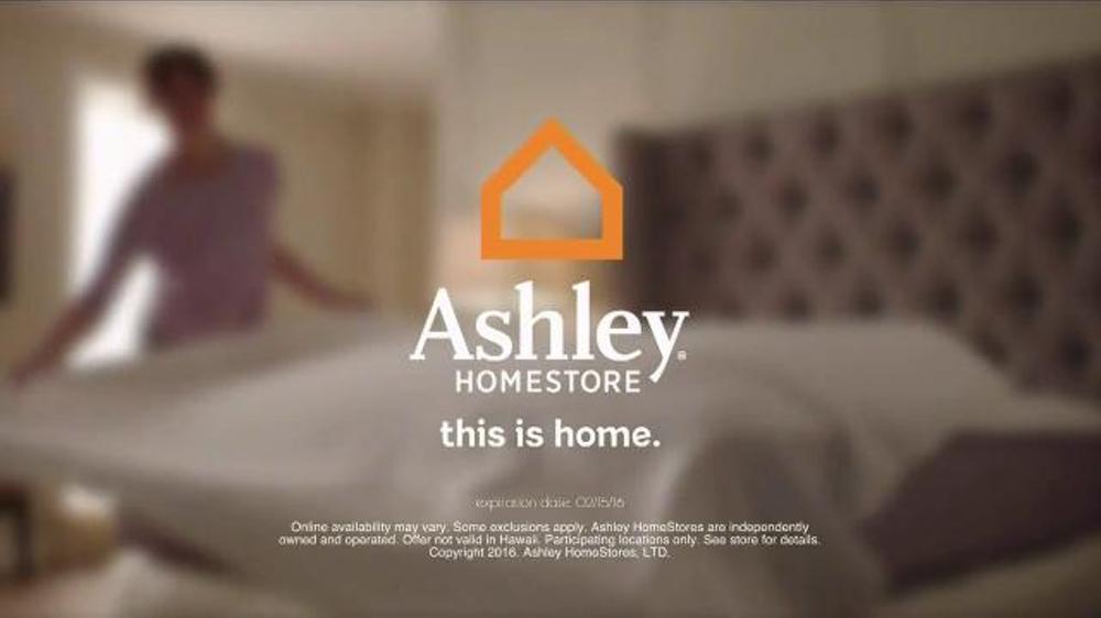 Ashley Homestore Presidents Day Mattress Sale TV Spot