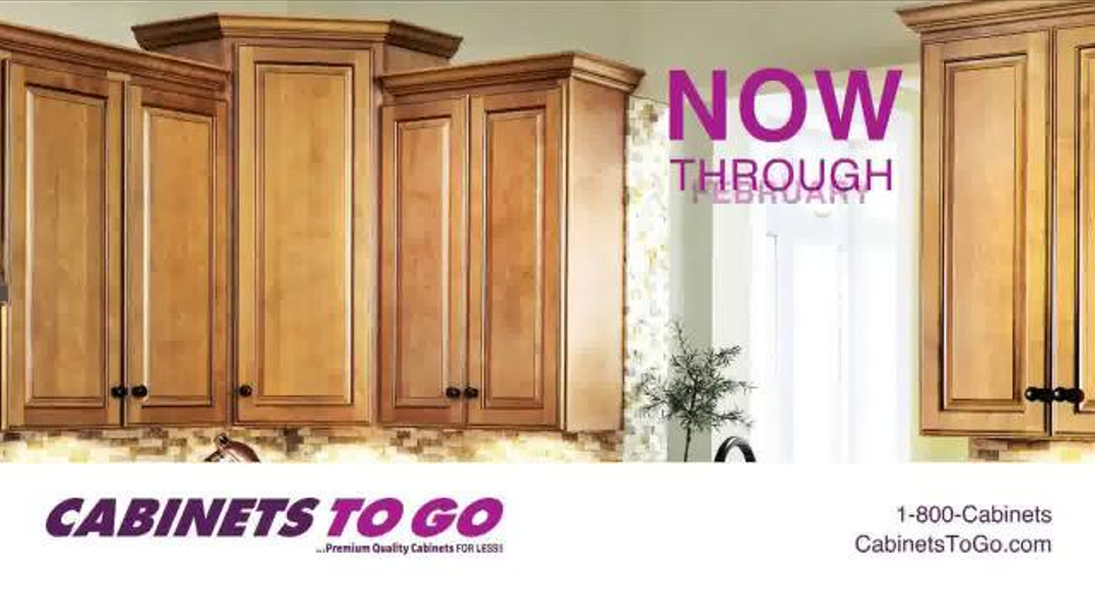Cabinets to go tv spot 39 show your love 39 for Cabinets to go