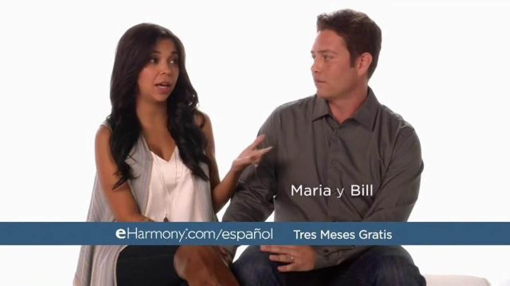 Who is the girl in the eharmony speed dating commercial