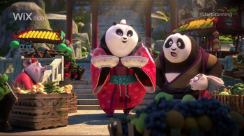 Wix.com: Pre-Release: Kung Fu Panda Discovers the Power of Wix