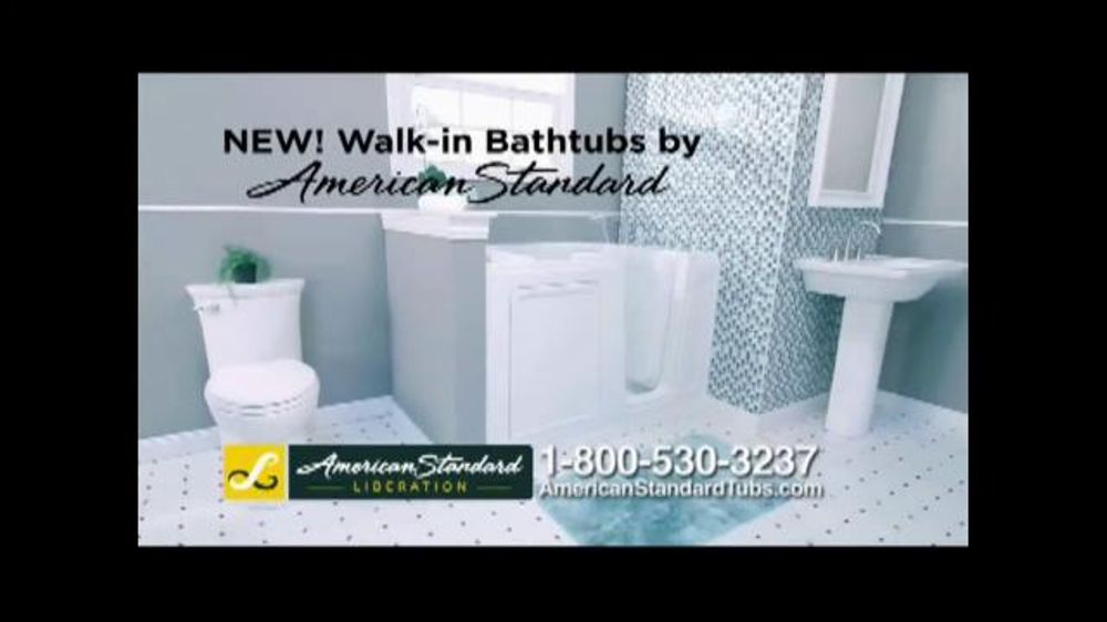 American Standard Liberation Walk In Bathtub Tv Spot