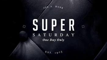 JoS. A. Bank Super Saturday Sale TV Spot, 'Suits, Sportcoats and Blazers'