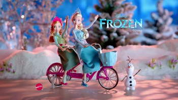 Disney Frozen Anna and Elsa's Musical Bicycle TV Spot, 'A Bike That Sings' thumbnail