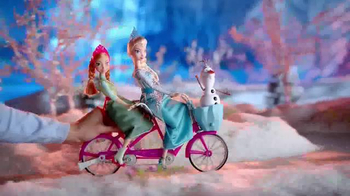Disney Frozen Anna and Elsa's Musical Bicycle TV Spot, 'A Bike That Sings' thumbnail