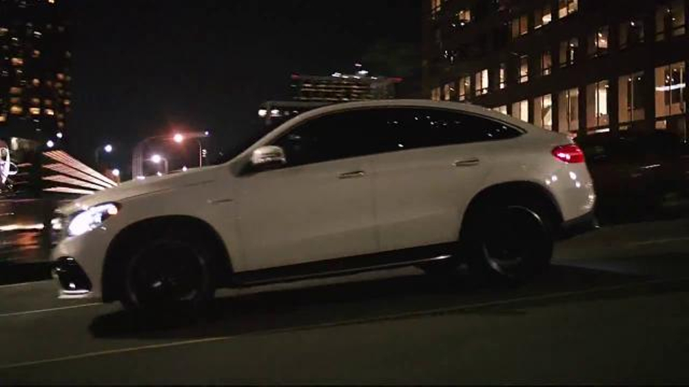 Mercedes benz gle coupe tv commercial 39 what it takes for Mercedes benz us open