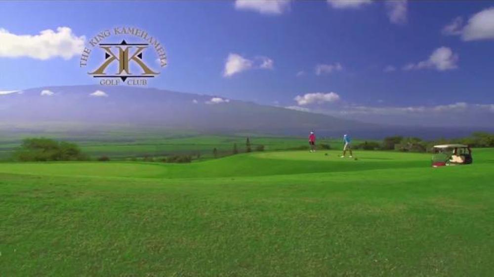 golf hawaii tv spot 39 like no place on earth 39. Black Bedroom Furniture Sets. Home Design Ideas