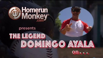 HomeRunMonkey.com TV Spot, 'Hit by Pitch' Featuring Domingo Ayala