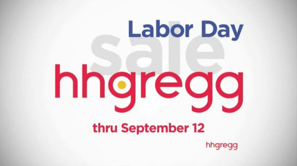 H H Gregg Labor Day Sale TV mercial Zero Down Zero