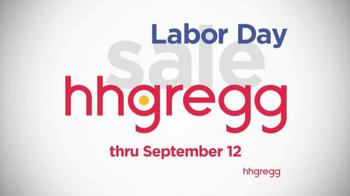 H.H. Gregg Labor Day Sale TV Spot, 'Zero Down, Zero Interest'