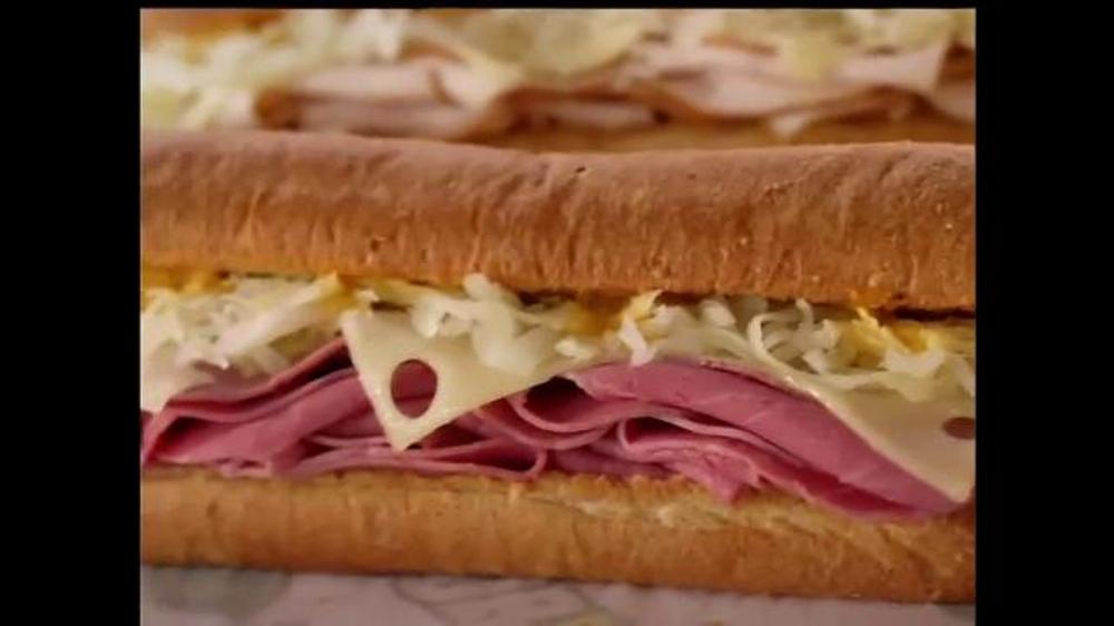 Subway Corned Beef & Turkey Reubens TV Commercial, 'Delicious Sandwic...