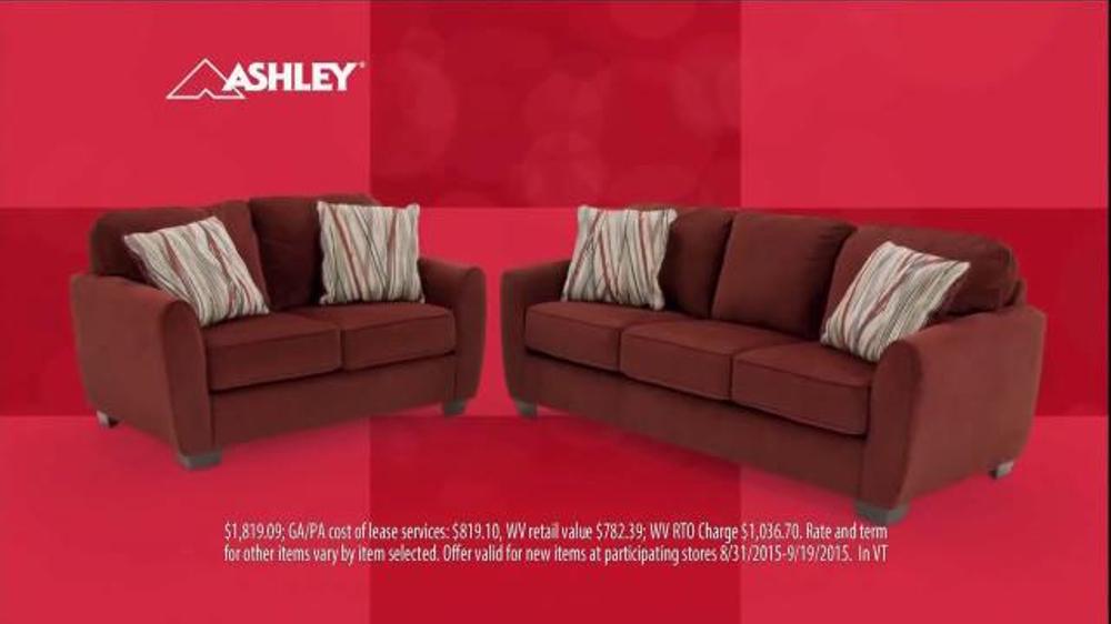rent a center tv commercial 39 sofa love seat 39. Black Bedroom Furniture Sets. Home Design Ideas