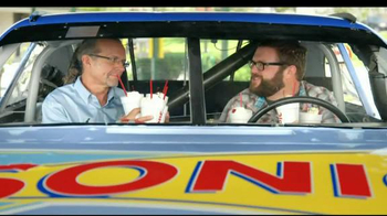 Sonic Drive-In TV Spot, 'Can't Stop Shaking' Featuring Rutledge Wood thumbnail