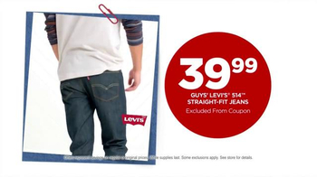JCPenney Labor Day Sale TV Spot, 'Levi's Jeans for Him & Her'