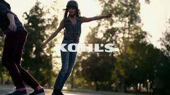 Kohl's Labor Day Weekend Savings TV Spot, 'Skateboarding'