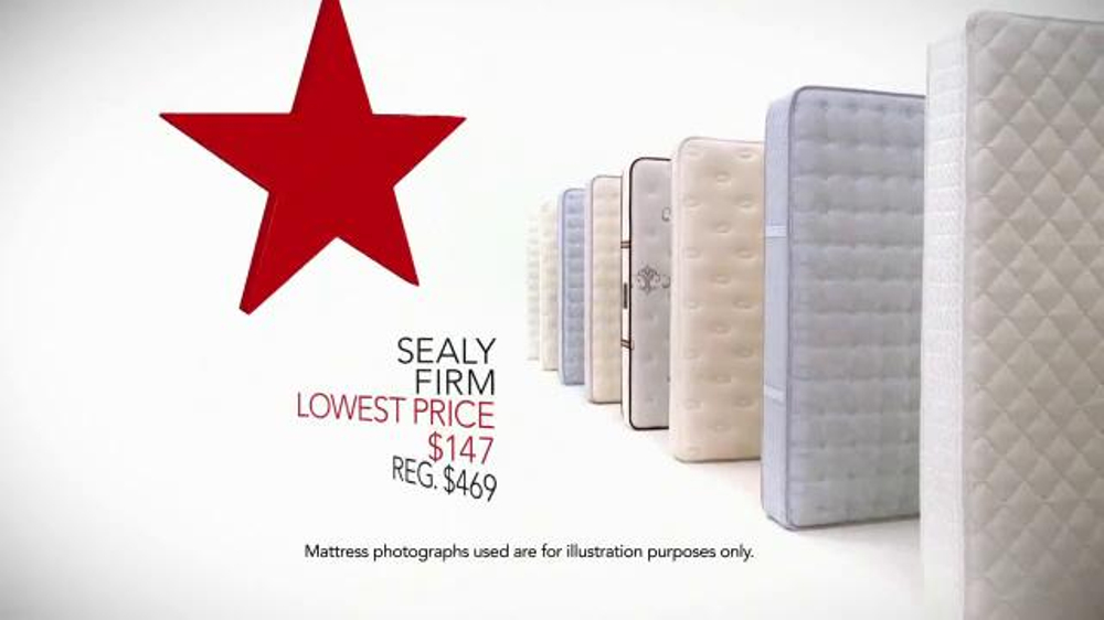 Macy s Labor Day Mattress Sale TV mercial Low Prices