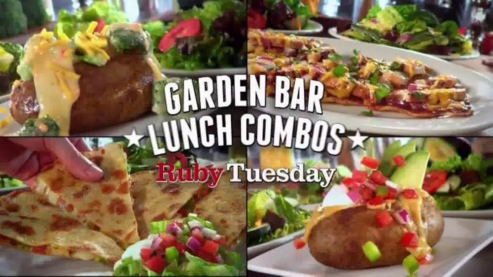 Ruby Tuesday Garden Bar Lunch Combos TV Spot, 'Endless Trips'
