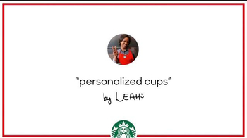 Starbucks: Holiday Craft: Personalization With Leah