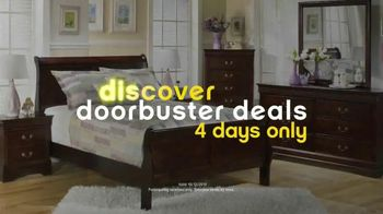 Ashley Furniture Homestore Columbus Day Sale TV Spot, 'Doorbuster Deals'