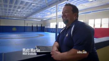 Southern New Hampshire University TV Spot, 'Matt Martin: Soccer'