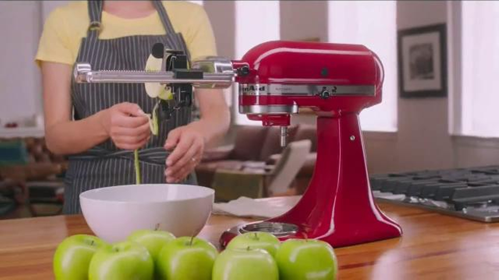 Zucchini Spaghetti Kitchen Aid Attachment