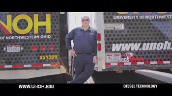 University of Northwestern Ohio TV Spot, 'Diesel Technology'