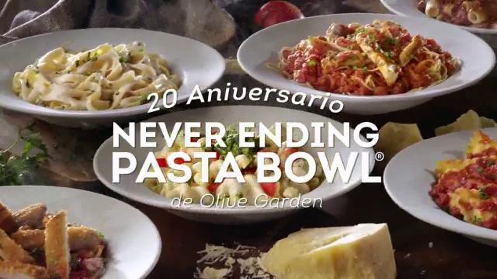 Olive Garden Never Ending Pasta Bowl Tv Commercial