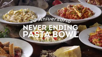 Casual dining tv commercials for Olive garden endless pasta bowl