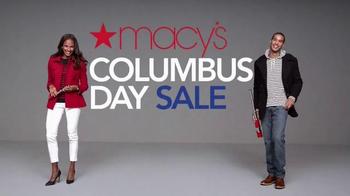 Macy's Columbus Day Sale TV Spot, 'Macy's Money'