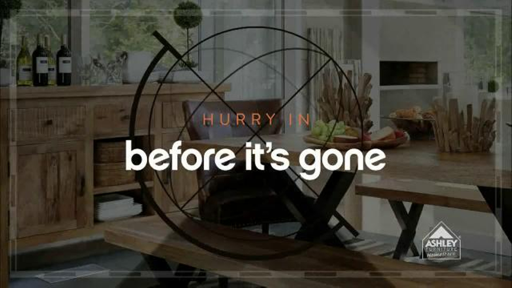 Ashley Furniture Homestore Columbus Day Sale Tv Commercial 39 One Dollar Down 39