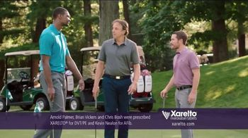 Xarelto TV Spot, 'Game Plan' Feat. Chris Bosh, Arnold Palmer, Brian Vickers