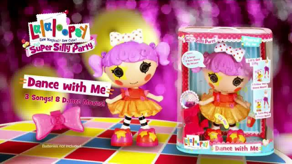 lalaloopsy dance with me doll instructions