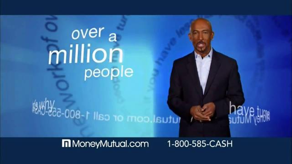 Money Mutual TV Spot, 39;Extra Cash Fast39; Featuring Montel Williams