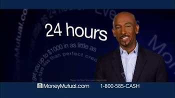 Money Mutual TV Spot, 'Extra Cash Fast' Featuring Montel Williams